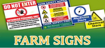 Farm Safety Signs For Sale - Delivery Throughout Ireland