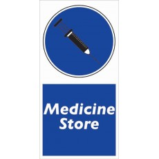 Medicine Store Sign |  Strong Durable & Weather Resistant