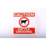 Cattle Crossing Farm Sign |  Custom Made Signs Available