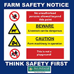 Farm Safety Sign | Professional Farm Safety Signs